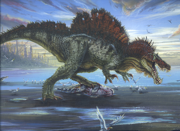 Spinosaurus vs SuperCroc   Animalia Enthusiasts